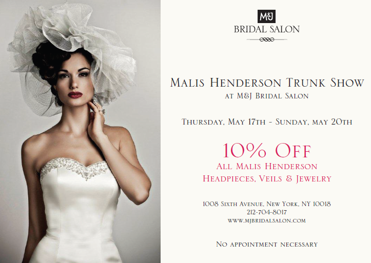 Bridal trunk shows dc