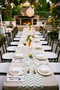 CHEVRON-wedding-decor-runner