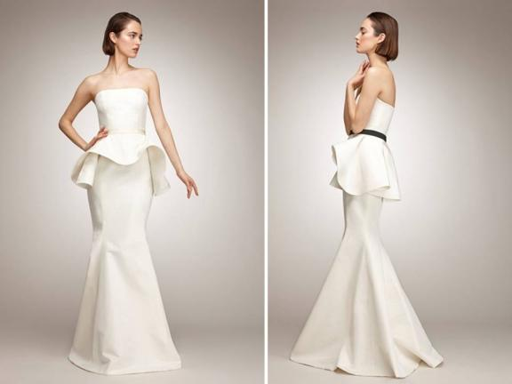 ivory-silk-peplum-isaac-mizrahi-wedding-gown
