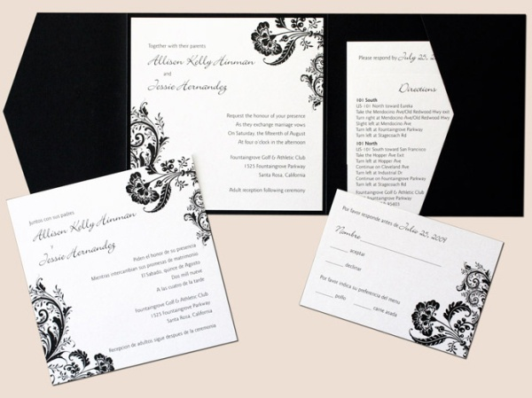 Bilingual-Letterpress-Wedding-Invitation
