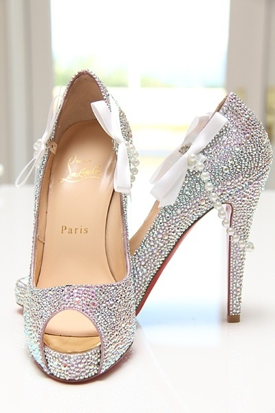 christain louboutin weddings shoes