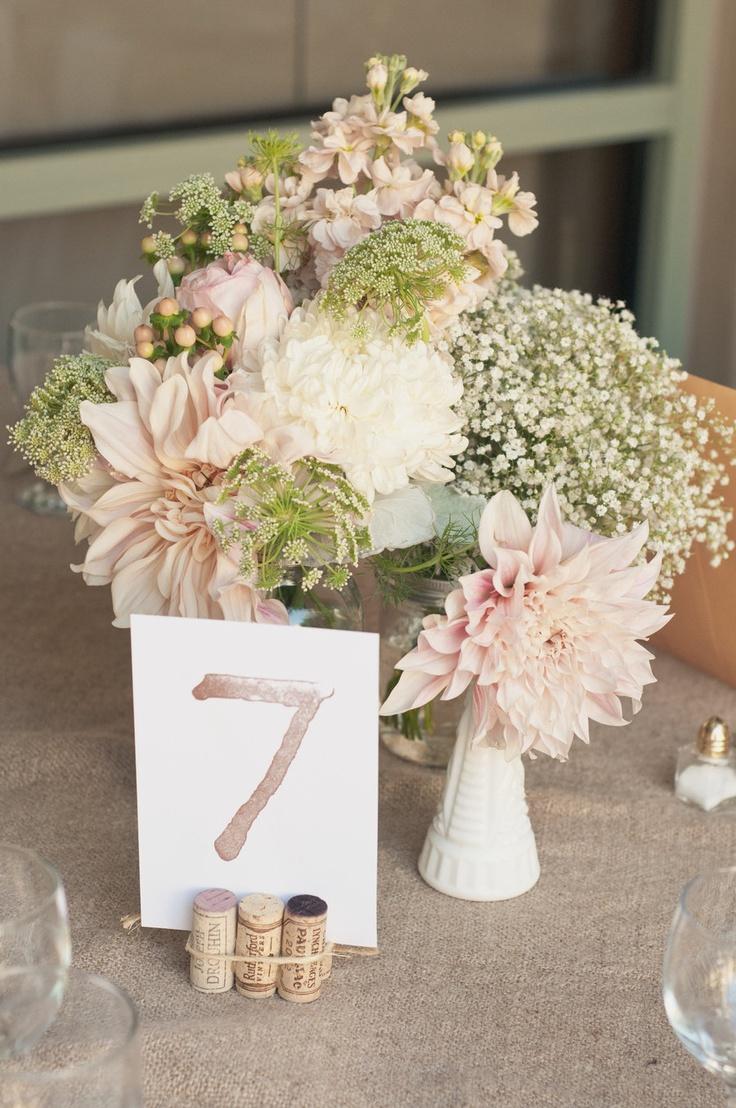 Timeless centerpieces bridal blog - Decor de table champetre ...