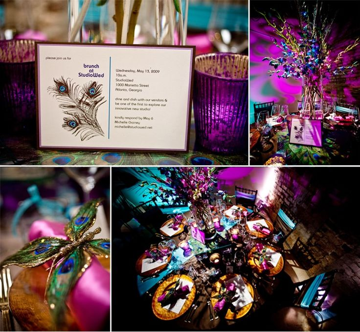 Wedding Trend Peacock Themed Weddings