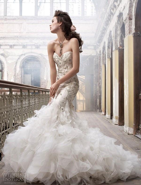 Lazaro couture gown
