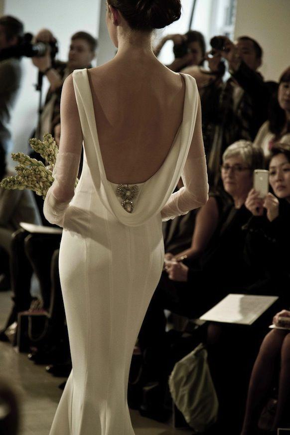 oscar de la renta couture gown