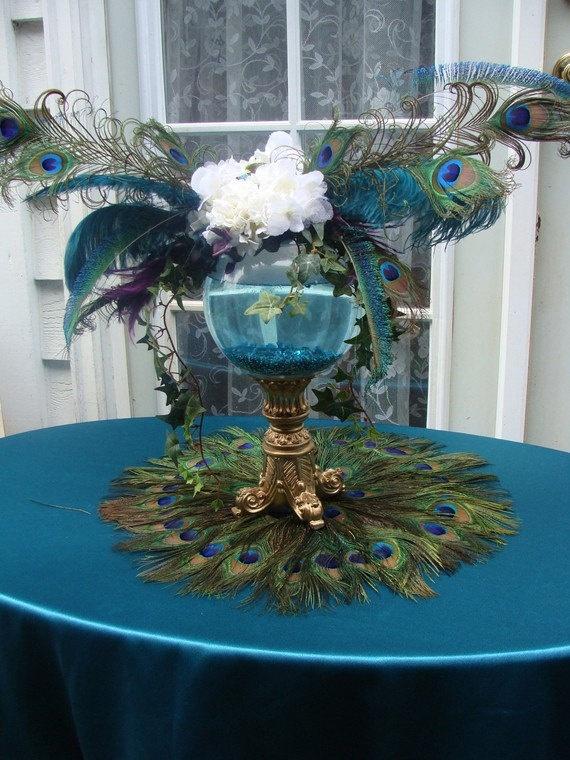 Wedding Trend Peacock Themed Weddings Bridal Blog