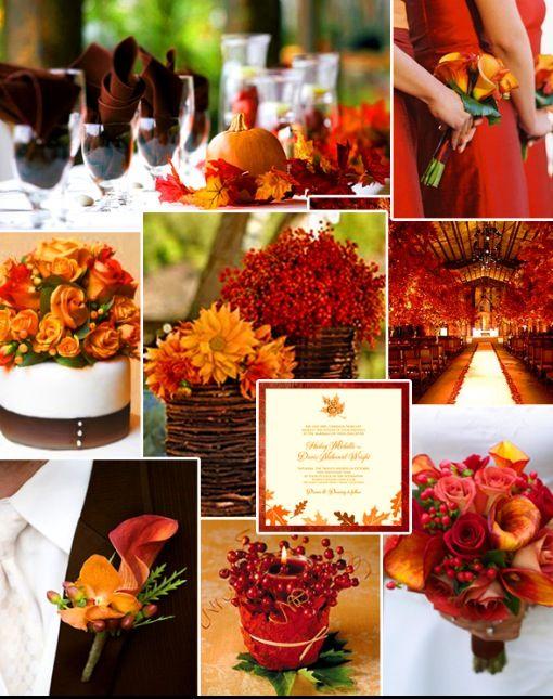 Traditional Fall Wedding Theme Via Pinterest