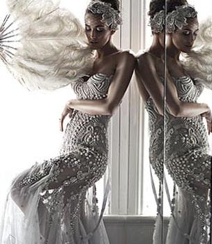 J'aton couture wedding gown