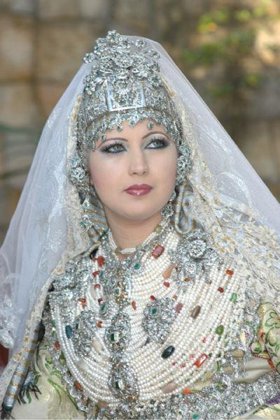 Cool Moroccan Woman  Ceremonial Costume Amazigh Woman Moroccan Woman
