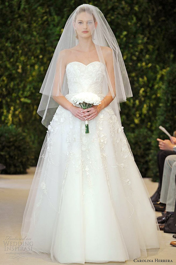carolina-herrera-bridal-spring-2014-amore-strapless-wedding-dress