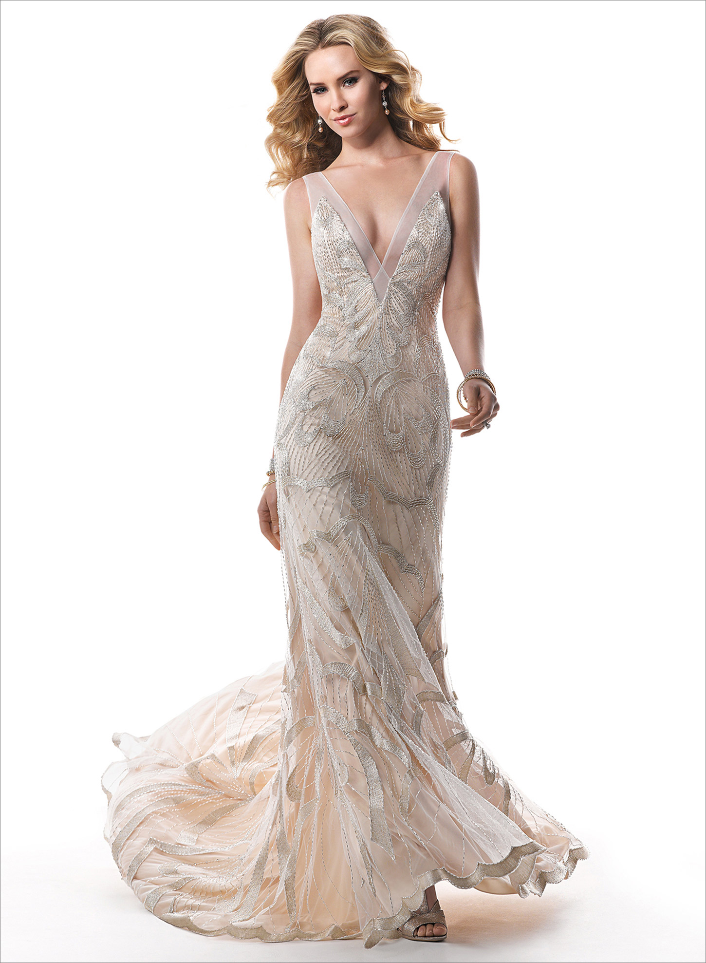 Atemberaubend Alt Hollywood Glamour Brautjunferkleider Ideen ...