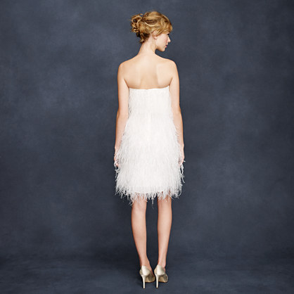 Collection feather flutter back