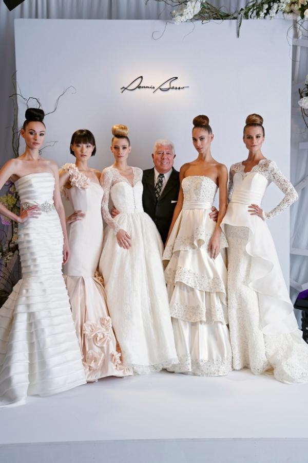 DENNIS BASSO SS13 BRIDAL FASHION WEEK 10/09/2012