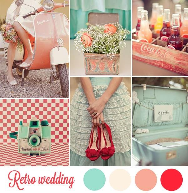 retro style weddings