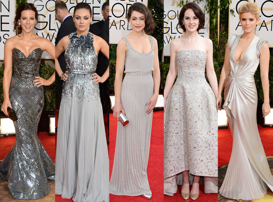 golden globes silver trend