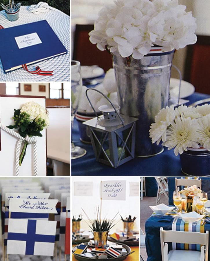 Nautical Wedding Ideas Pictures: Nautical Wedding Decorations