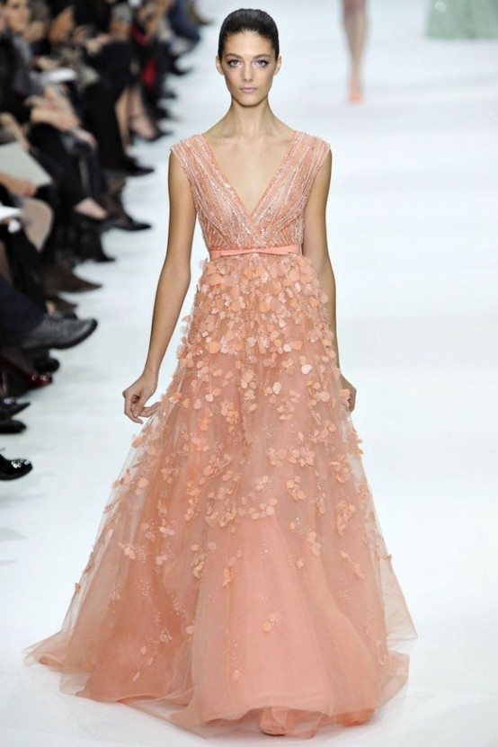 pink wedding dress 16