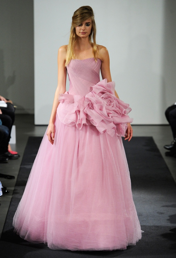 pink wedding dress 25