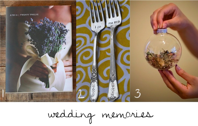 Wedding Keepsakes Bridal Blog