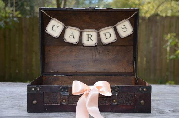 Unusual Wedding Gift Vouchers : Unique Wedding Gift Card Holders Bridal Blog