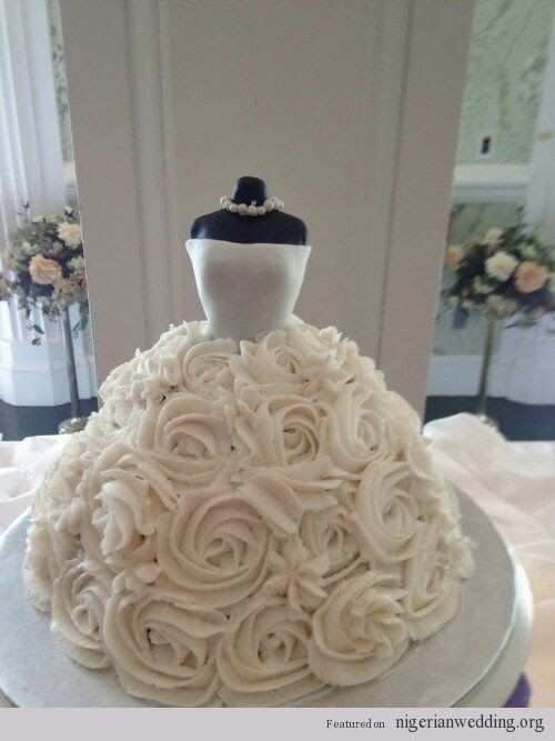 BRIDAL SHOWER CAKE 3333