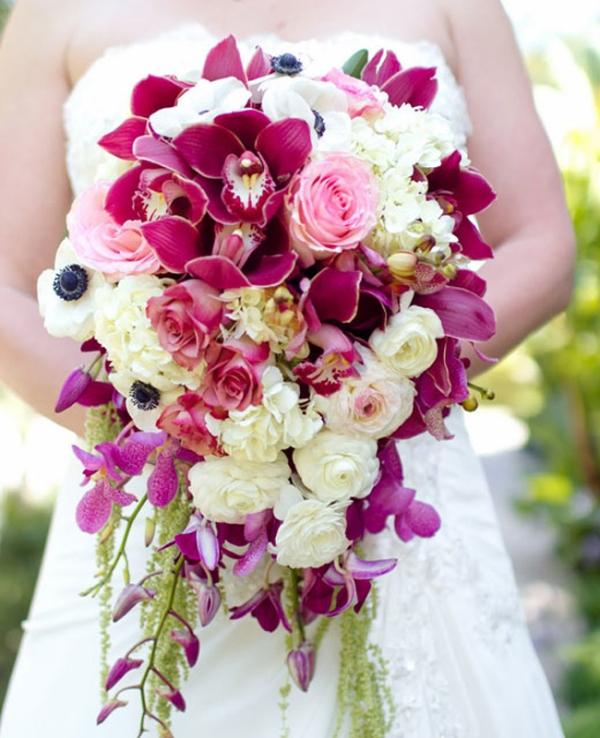 cascade bouquet 7