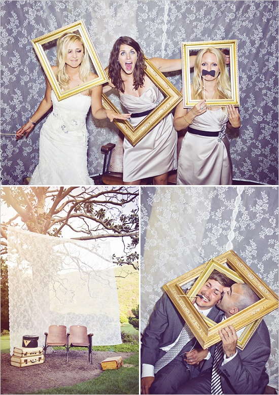 photo booth wedding ideas bridal blog