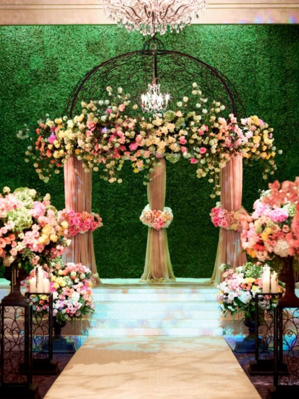 Creative Wedding Backdrops