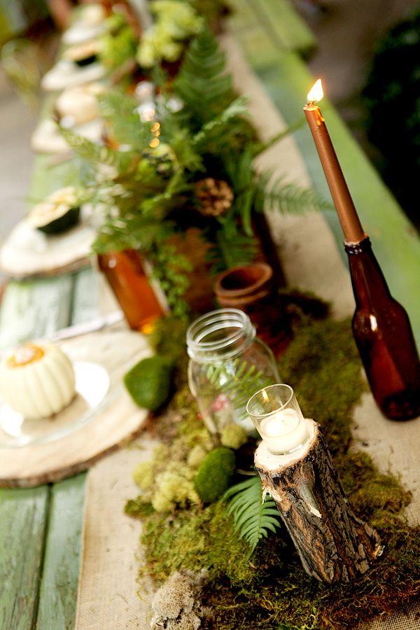 woodland theme wedding 2