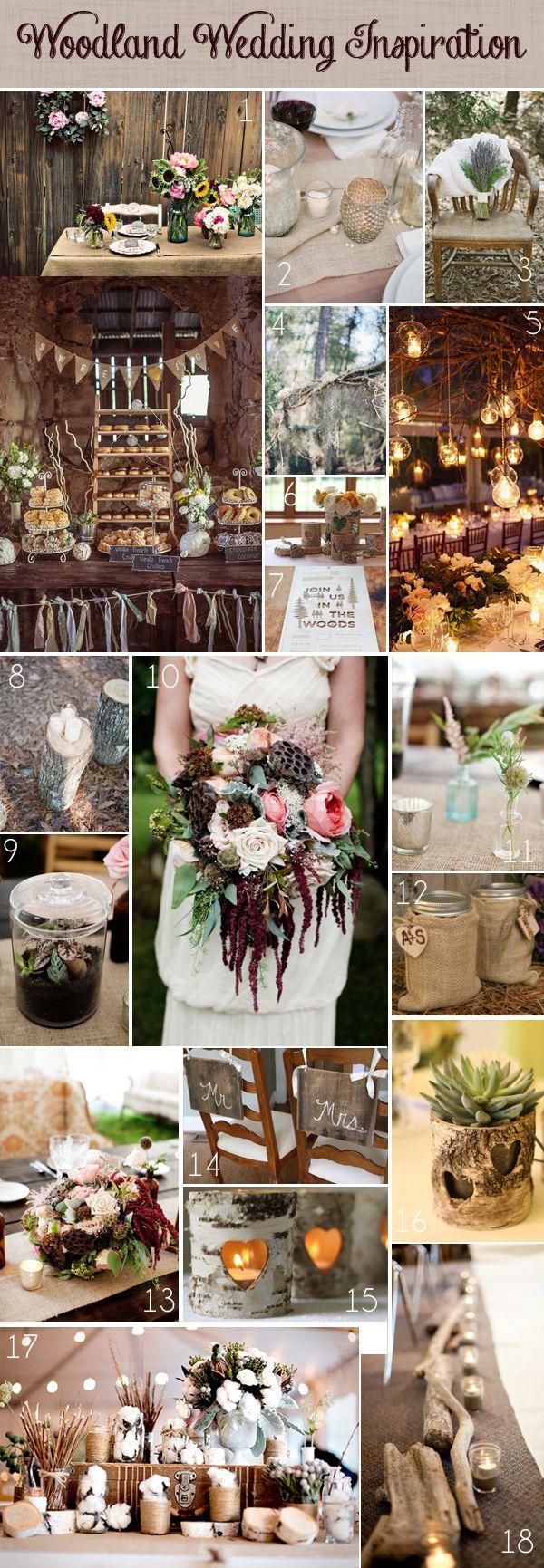 woodland theme wedding 3