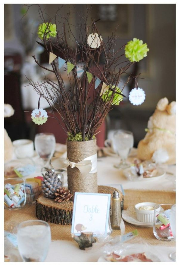 woodland theme wedding 4