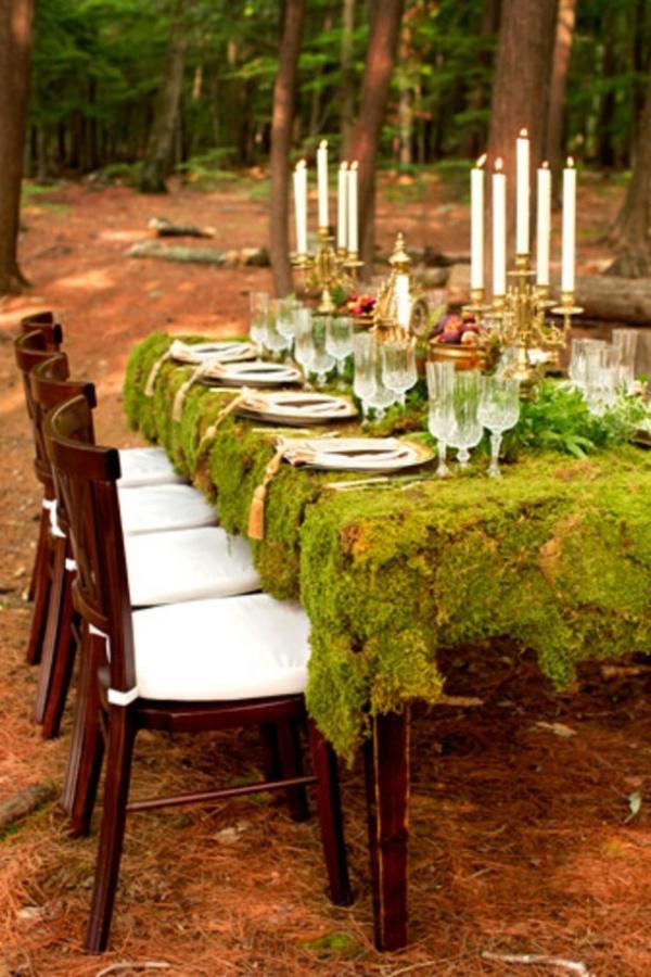 woodland theme wedding 6