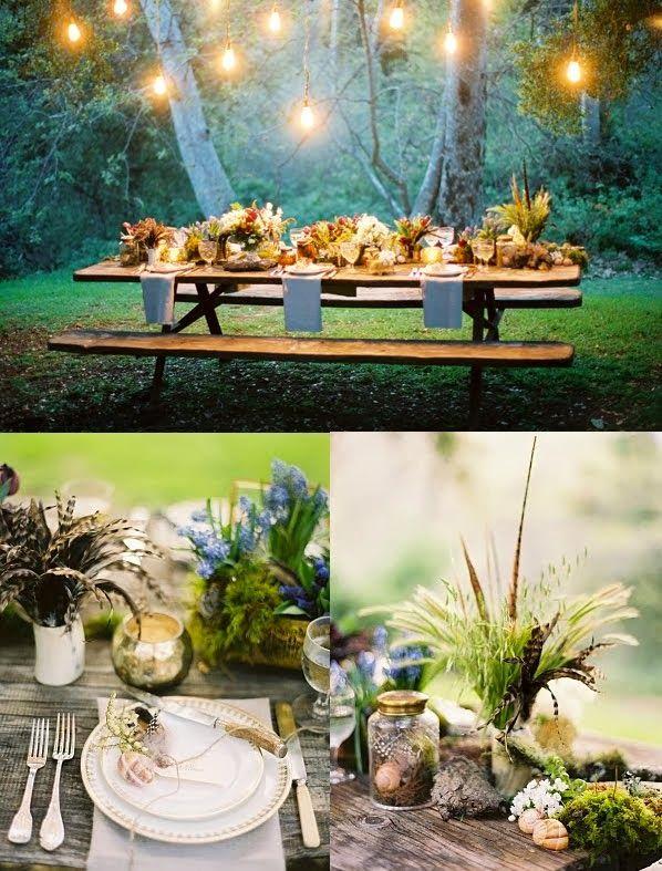 woodland theme wedding 8
