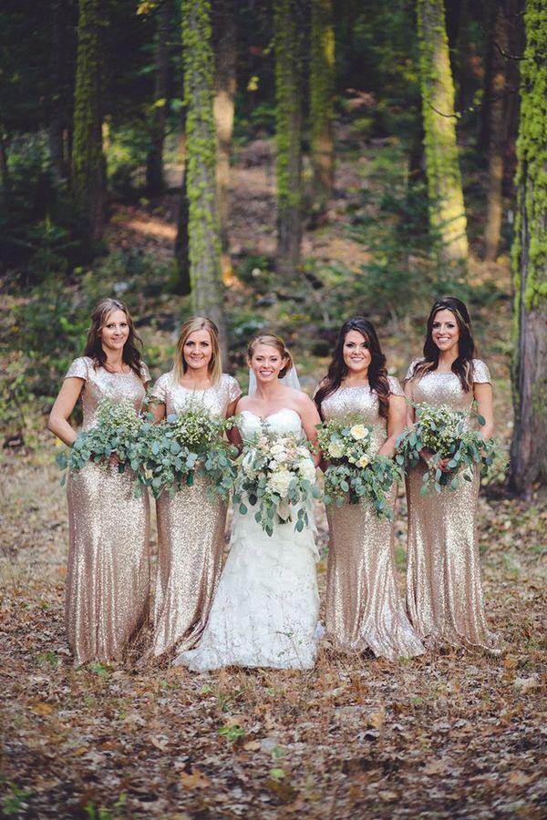 SEQUIN BRIDEMAIDS DRESSES 133