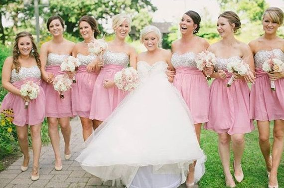 SEQUIN BRIDEMAIDS DRESSES 18