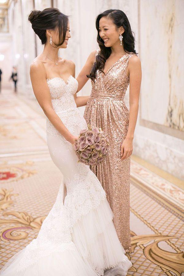 SEQUIN BRIDEMAIDS DRESSES 3