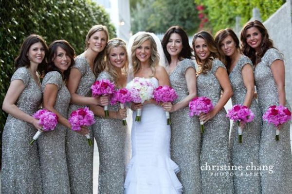 SEQUIN BRIDEMAIDS DRESSES 4