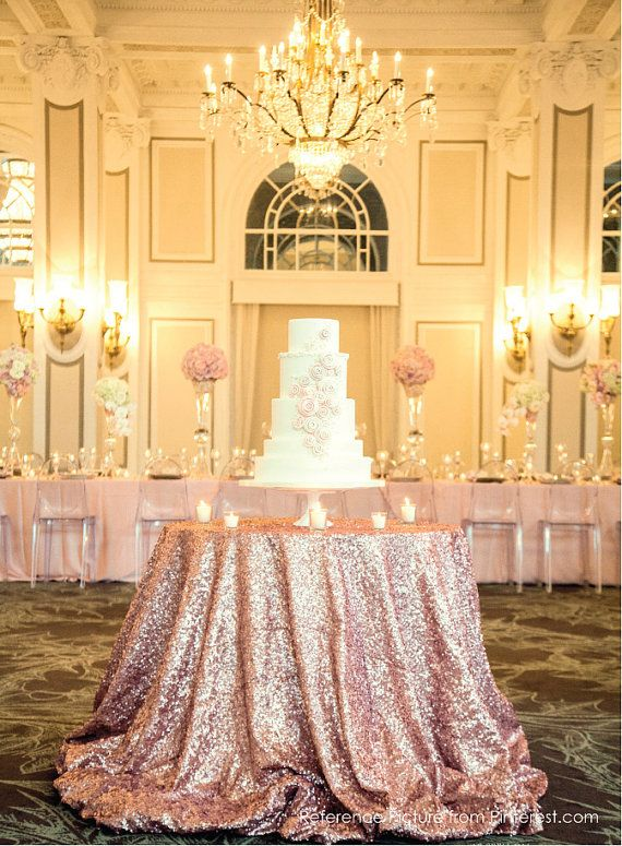 sequin wedding decor 10