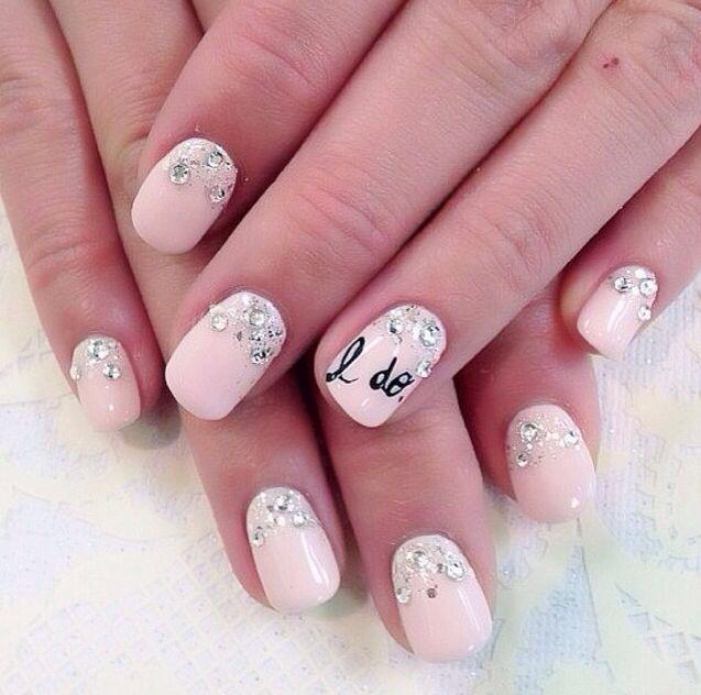 Wedding nail art design bridal blog wedding nails 3 prinsesfo Image collections
