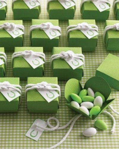 green favors