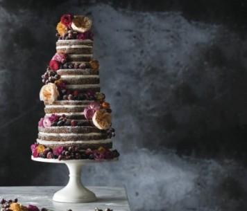 un iced cake
